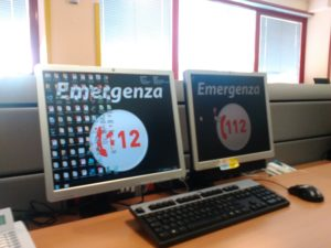 La centrale operativa di Varese