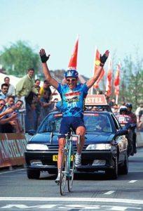 Stefano Zanini vincitore dell'Amstel Gold Race