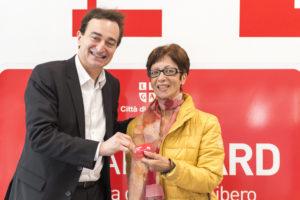 Il sindaco Borradori premia la signora Previti
