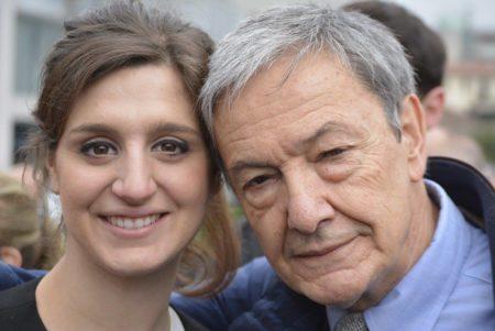 Maria Paola Cocchiere con Andrea Bortoluzzi