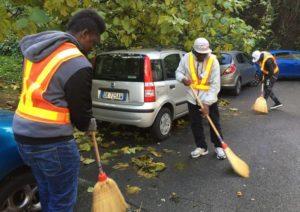 Profughi volontari al lavoro a Varese