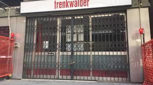 Un'agenzia Trenkwalder chiusa (foto Liguria24.it)