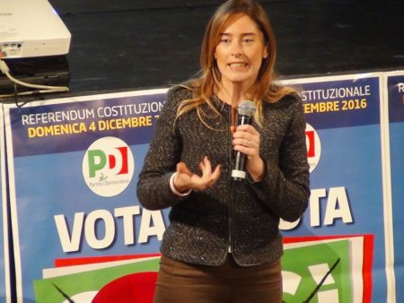 Il ministro Boschi al Santuccio di Varese