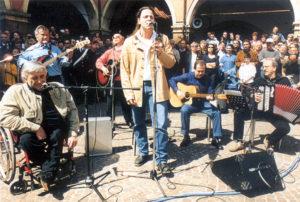Pierangelo con Alberto Bertoli