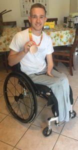 Gregg Warburton (in questa foto con la medaglia olimpica conquistata a Rio de Janeiro