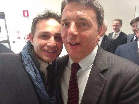 Astuti oggi con Renzi