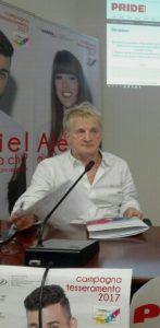 L'editore Frank Semenzi