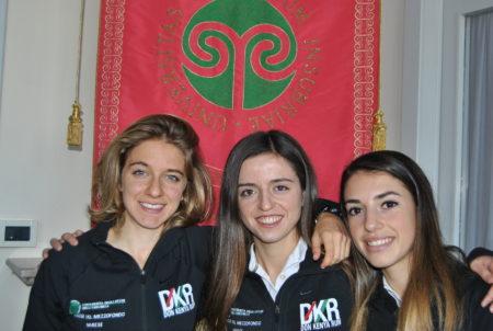 Silvia Oggioni, Chiara Spagnoli e Alice Cocco