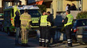 L'intervento dei vigili del fuoco (foto rescue Media)