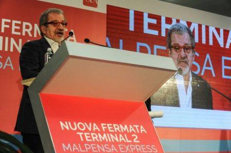 Il presidente Maroni all'inaugurazione